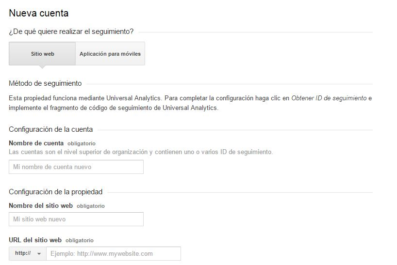 Pasos de Google Analytics 3