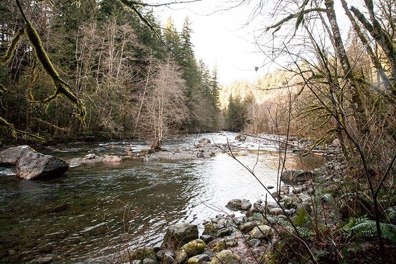 Twin Falls Hike in Washington State