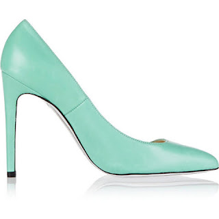 scarpin mint green