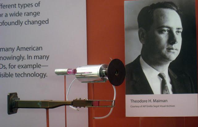 Первый рабочий лазер