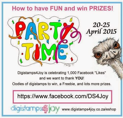 DigiStamps4Joy 1000 FB Follower Party