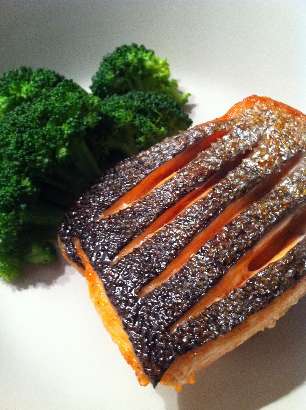The Only Difficult Part Of This Recipe Is Having To Cut Through The Salmon  Skin Watching The Way Gordon Ramsay