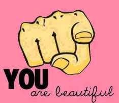 You are beautiful image with word PIcture comment