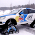 Η Volkswagen κατασκεύασε Touareg με ερπύστριες