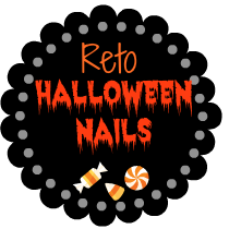 Reto Halloween Nails