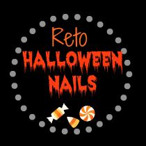 Reto Halloween Nails