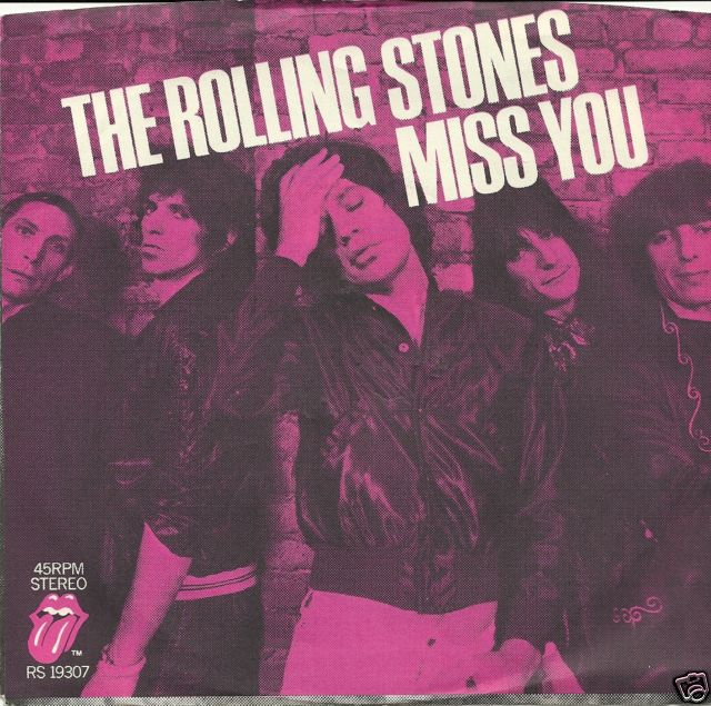 Copertina The Rolling Stones - Miss You
