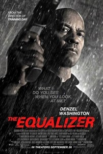 Poster original de The Equalizer. El protector