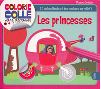 "Colorie Colle ""Les princesses"""