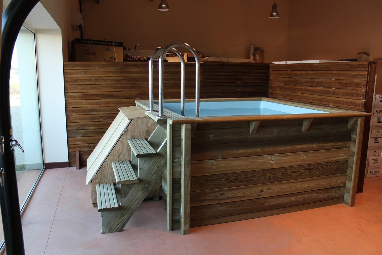 Petite piscine bois for Petite piscine bois carree
