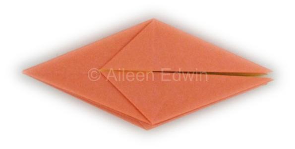 Origami frog base