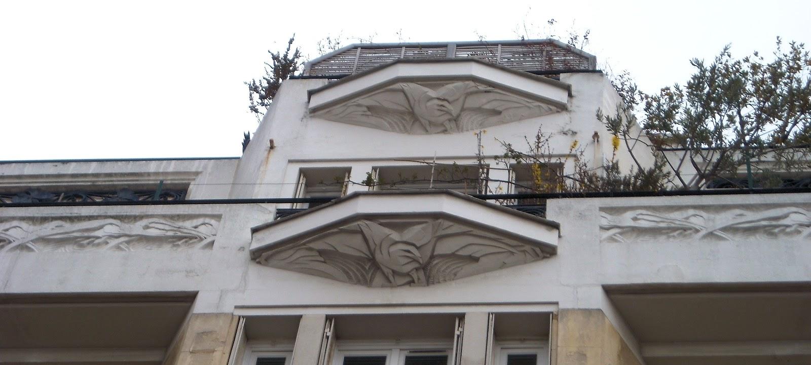 L\'architecture parisienne des années 1920 à 1940 : l\'art-déco et le ...