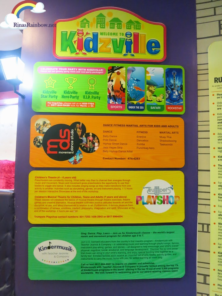kidzville party package