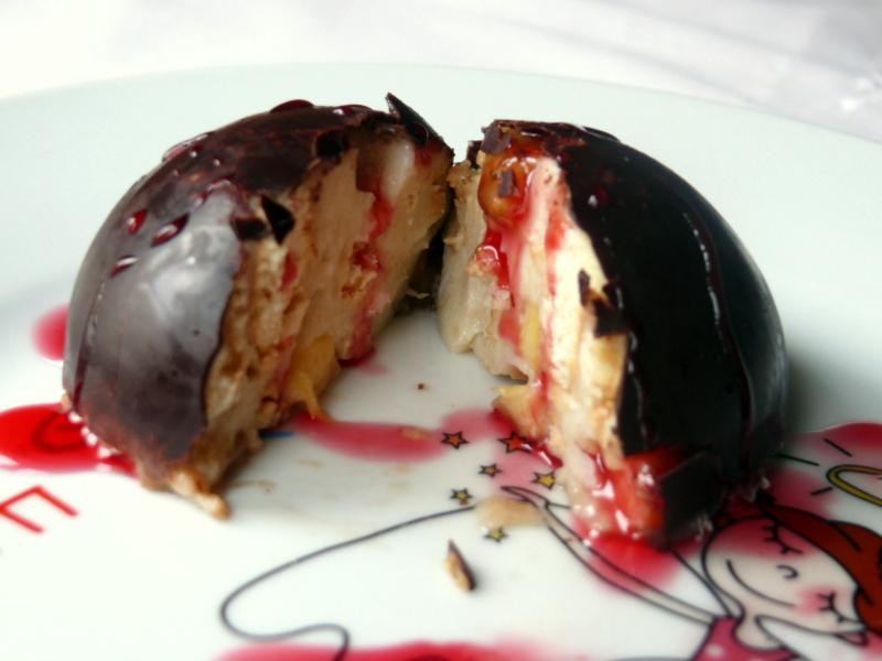 muzlu çilekli pasta