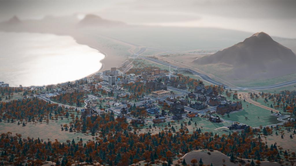 Вид на регион в SimCity - новые скриншоты