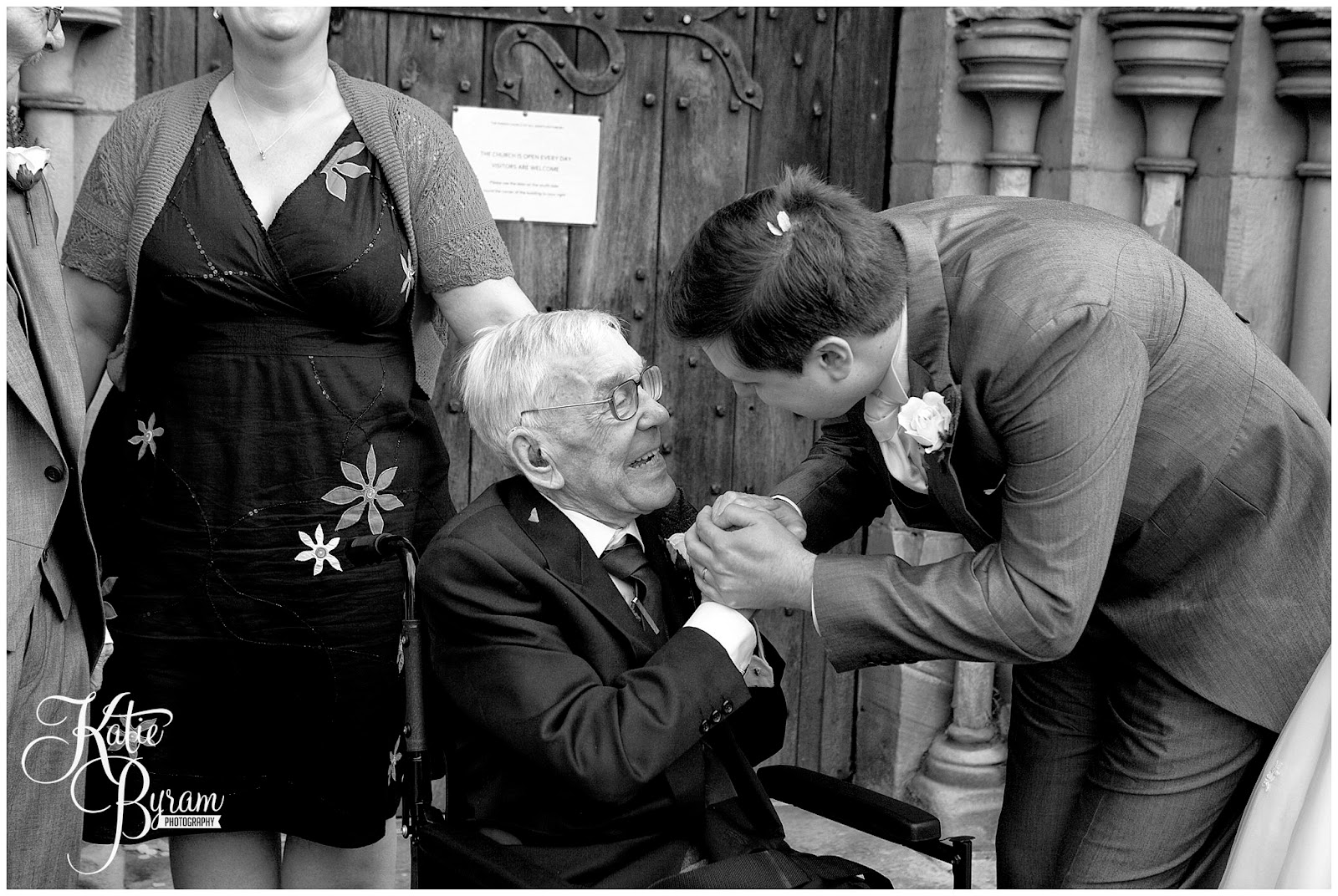grandad wedding day, share the honest love, love my dress blog, katie byram photography