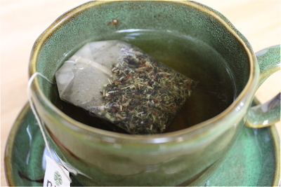 runa organic tea in cup