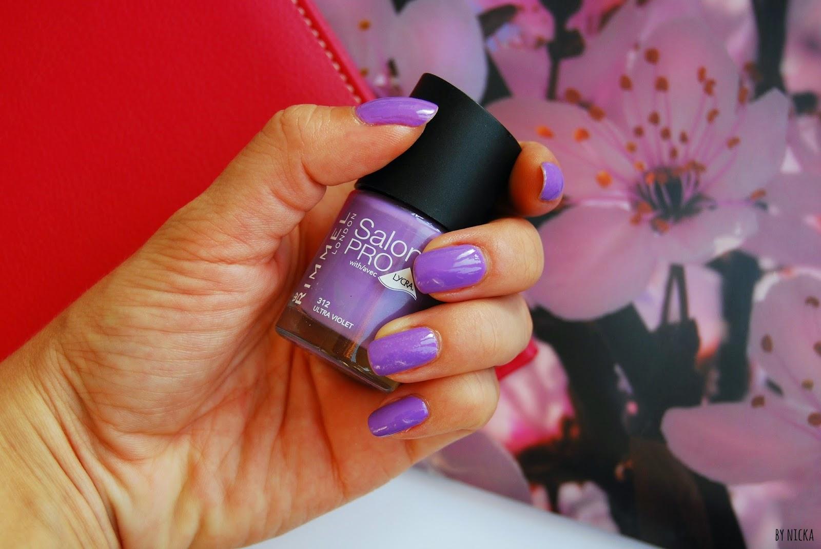 rimmel nechty ultra violet