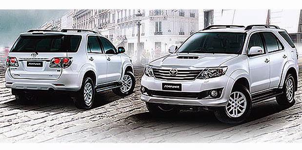 Daftar Harga Toyota Grand New Fortuner Terbaru 2015 | Berita 2015