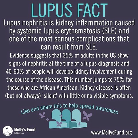 Wordless Wednesday : Lupus Fact