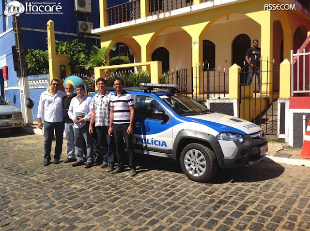 Itacaré recebe nova viatura para Polícia Civil.