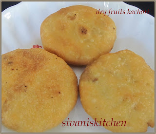 Sivan's Kitchen - Sweet kachori
