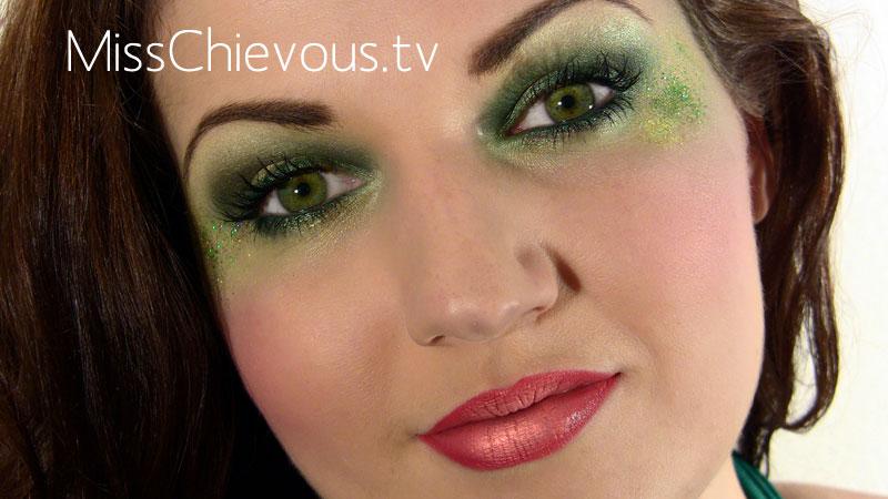 Tinkerbell makeup
