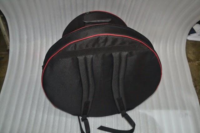 Tas snare, stick dan cymbal custom ransel
