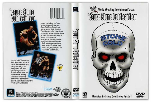 WWE Cause Stone Cold Said So DVD