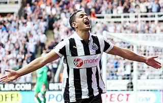 Hatem ben Arfa, Newcastle United midfielder