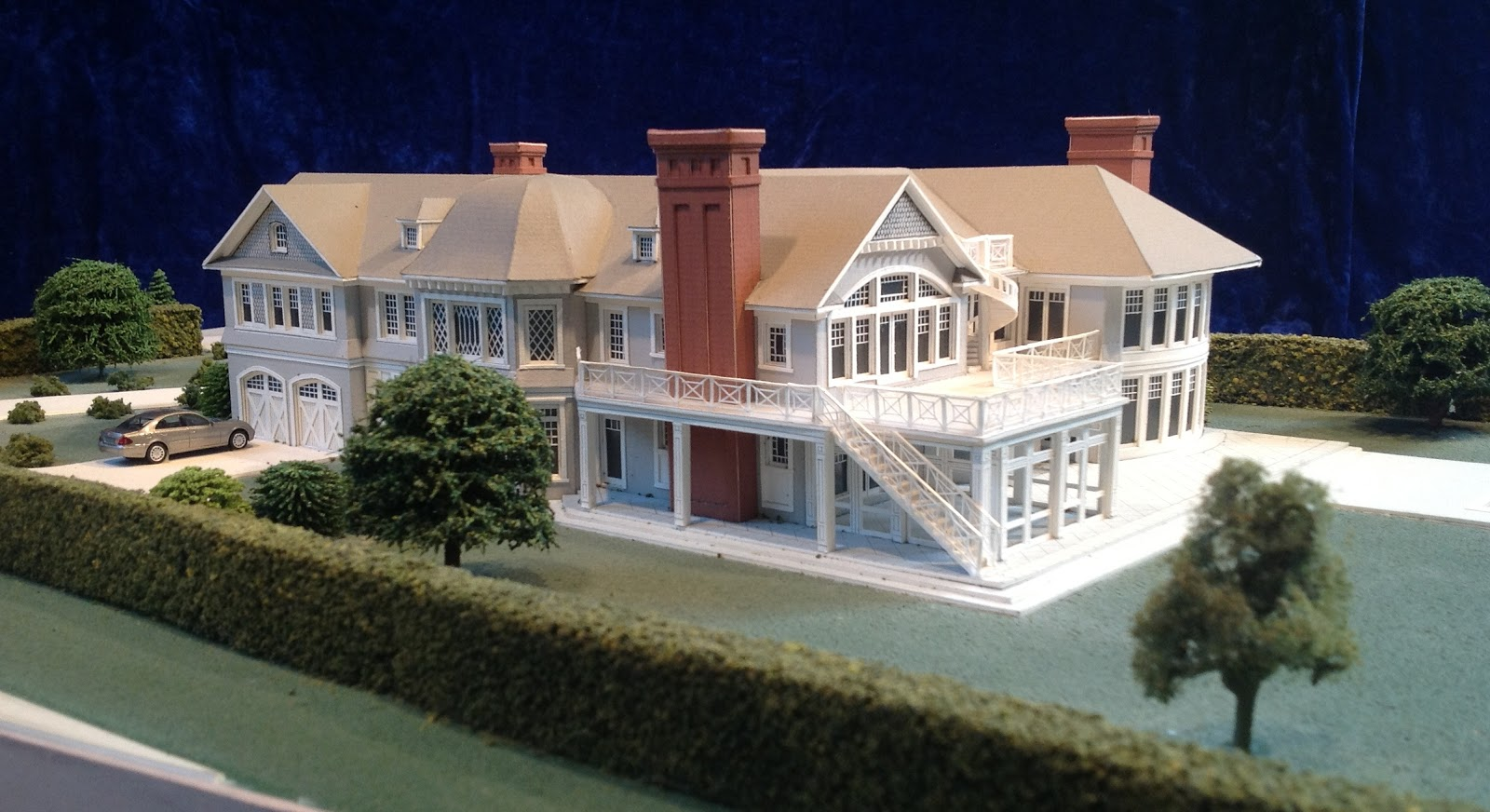 architectural house models of houses in the hamptons long island s