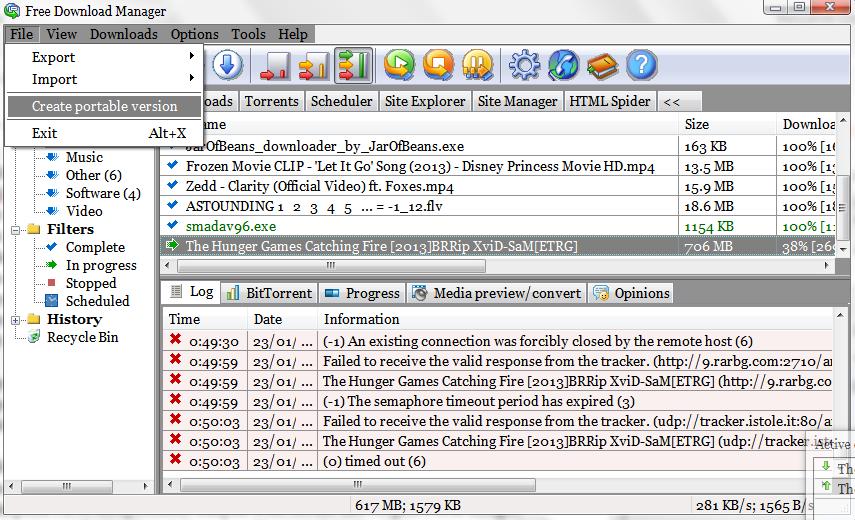 Membuat versi portable FDM