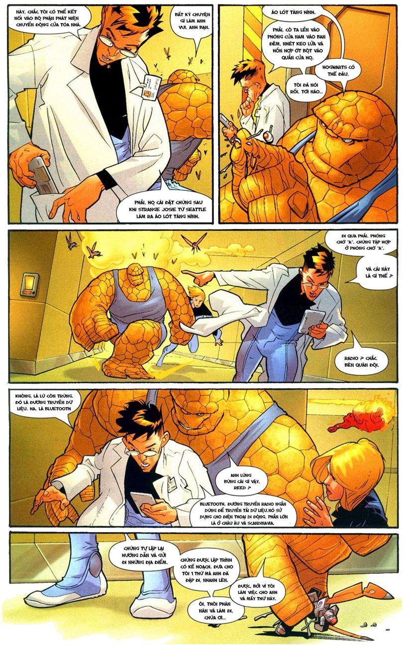 Ultimate Fantastic Four chap 9 - Trang 12