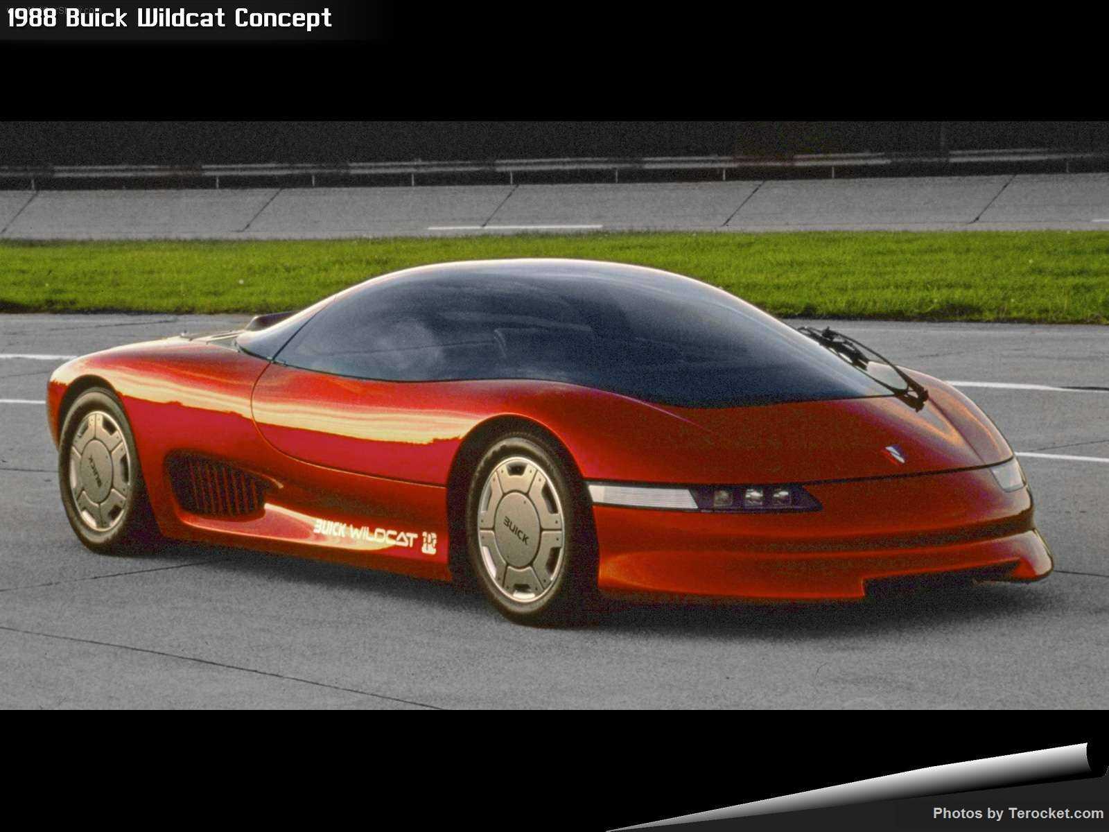 Hình ảnh xe ô tô Buick Wildcat Concept 1988 & nội ngoại thất