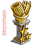 FarmVille Double Mastery Statue for Crafts
