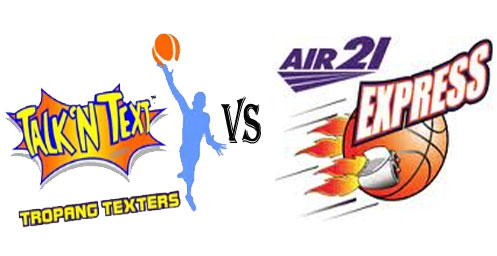 Watch PBA Talk N Text Tropang Texters vs Air21 Express