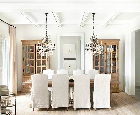 In your back pocket...: Double Dining Room Fixtures