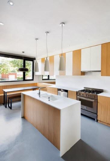 Dise o de isla minimalista para cocina - Cocinas de diseno con isla ...