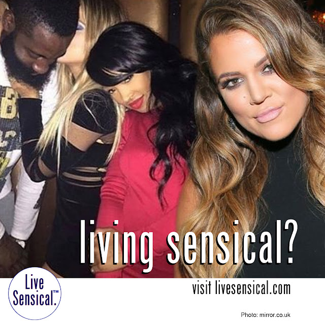 Khloe Kardashian (ever will livesensical.com?) and James Harden started dating over Fourth of July weekend after being set up by sister Kim Kardashian - are yet to confirm their romance, getting close during Kylie Jenner's 18th birthday party in West Hollywood on Sunday. Koko couldn't resist smacking a kiss on her fella's face during the celebrations.