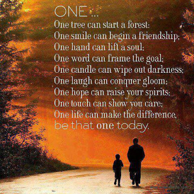 Making A Difference Quotes | One Life Can Make A Difference