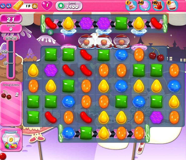 Candy Crush Saga 1400