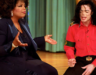 funny picture: oprah with michael jackson