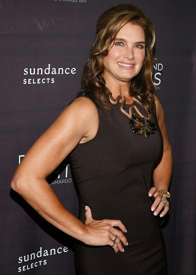 The only things we like about her outfit are the miss delicious garment, her sweetest thing of smile, and those elementary appearance. At least she got those thing right as Brooke Shields went lovely in a brown dress at the premiere of Days And Nights in New York on Thursday, September 25, 2014.