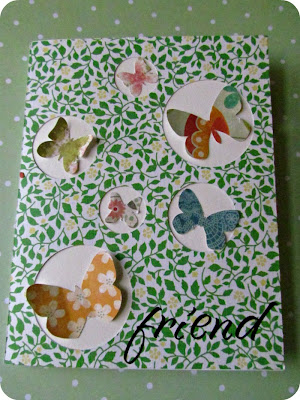 Martha Stewart paper, Martha Stewart Stitched, Cardmaking, Butterfly Card, Easy to make Card