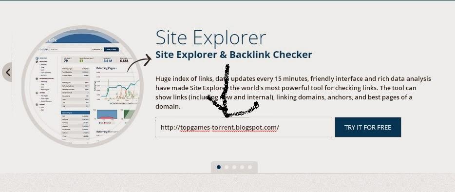 موقع لمعرفة عدد backlink لموقعك