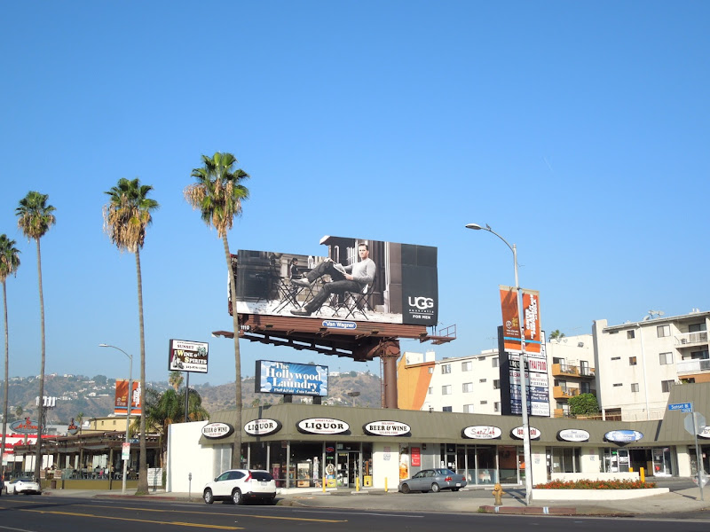 UGG Australia Men Winter 2012 billboard