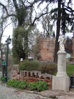 Jardim do Cerro Santa Lucía - Santiago