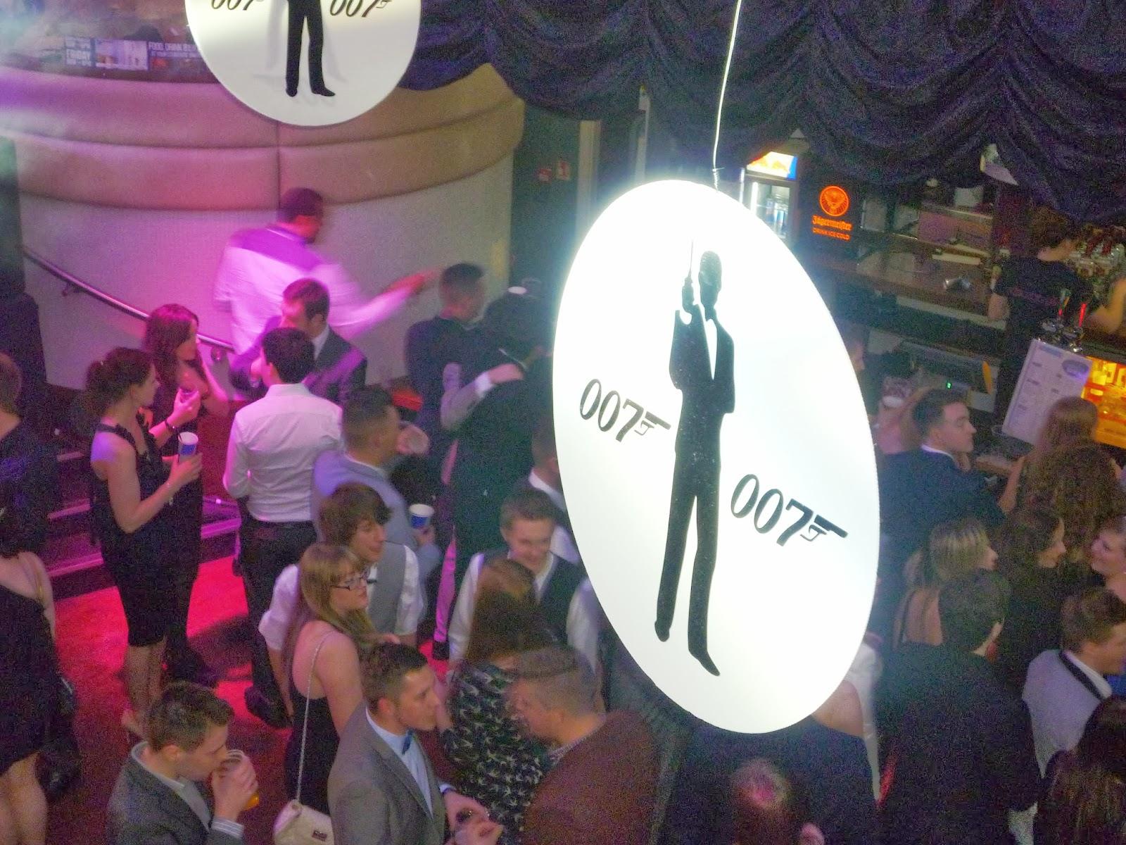 skyball 007 themed graduation ball via lovebirds vintage