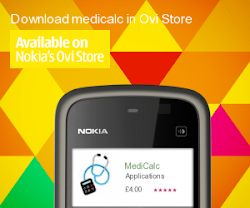Medical Calculator available on Ovi Store
