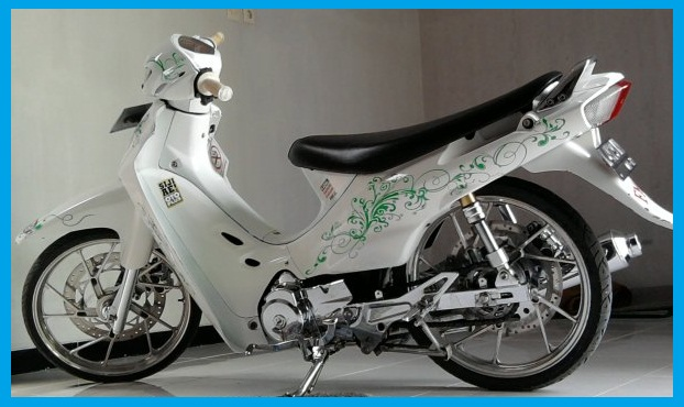 Modifikasi Suzuki Shogun 110_Body Costum Variasi-Gambar Foto